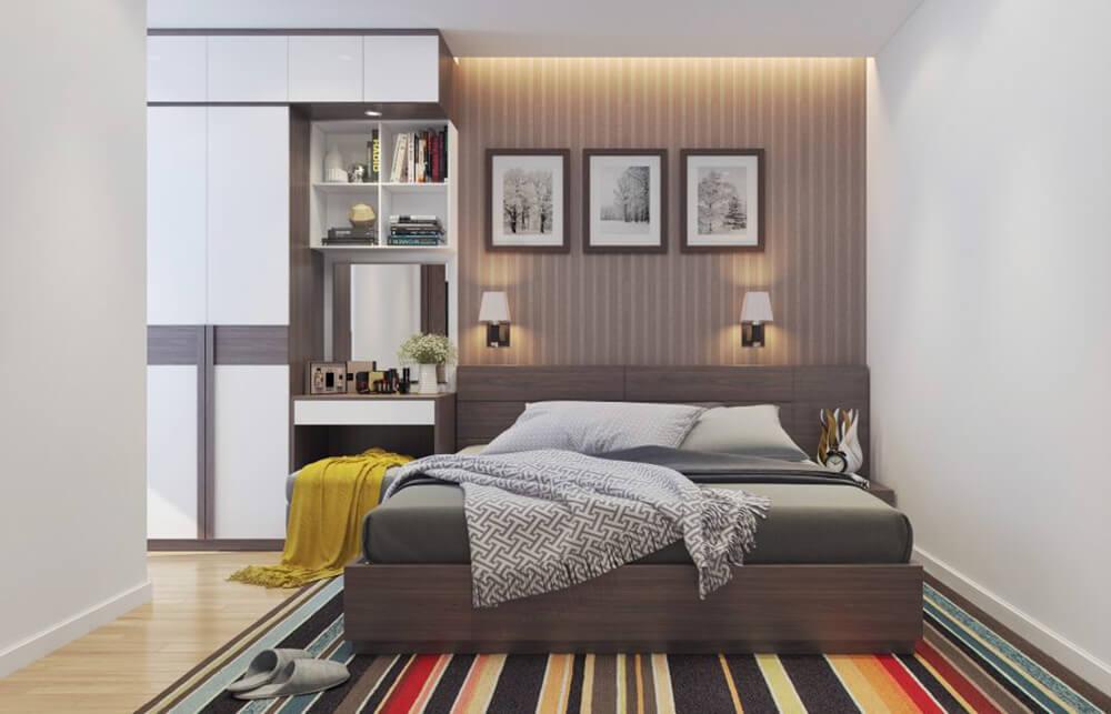 Phòng ngủ tĩnh lặng, ấm áp
