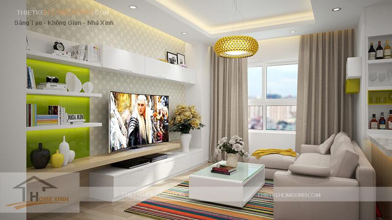 Mẫu thiết kế nội thất chung cư Lotus Lake View - 206950