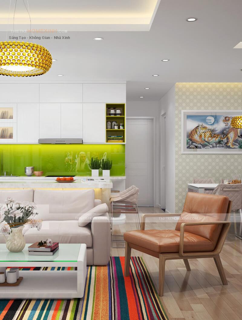 Mẫu thiết kế nội thất chung cư Lotus Lake View - 206952