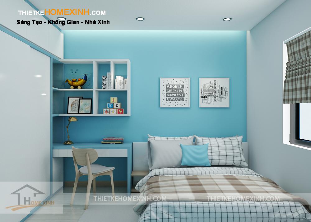 Phòng ngủ thông thoáng, sạch sẽ