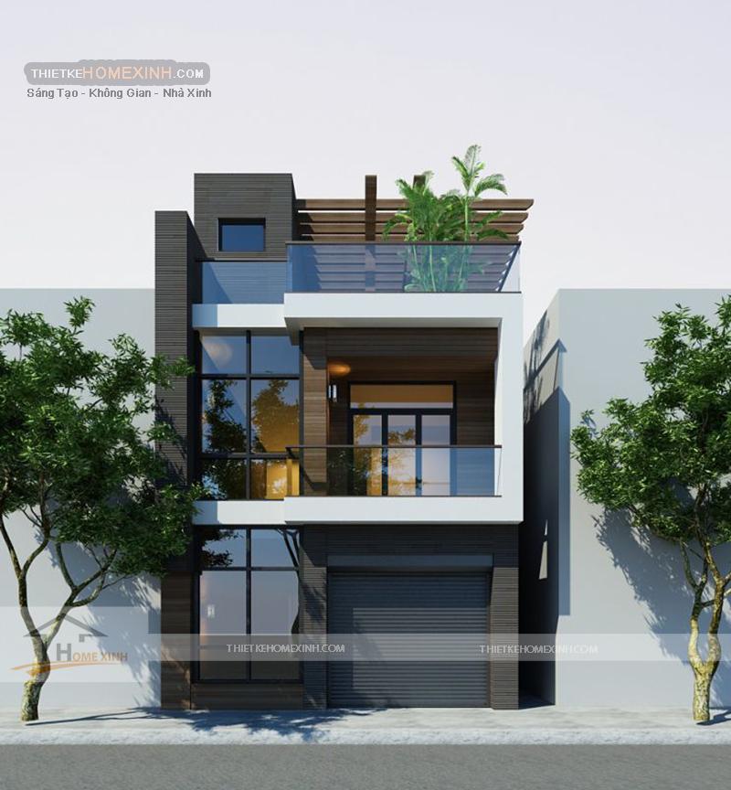 Không gian kiến trúc trẻ trung, sinh động
