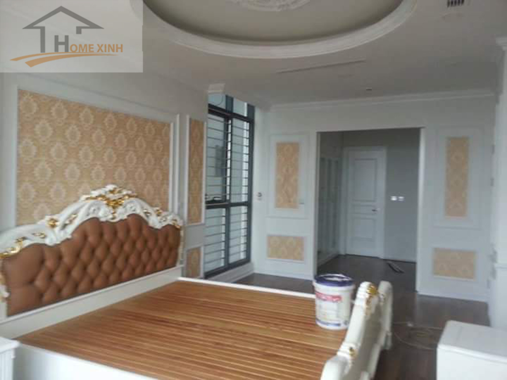 Thiết kế nội thất phòng ngủ rộng, thông thoáng