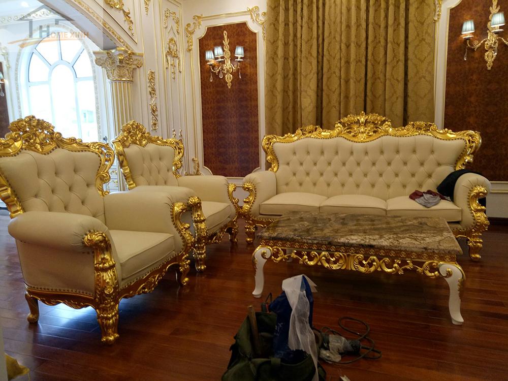 Thiết kế ghế sofa hiện đại, sang trọng