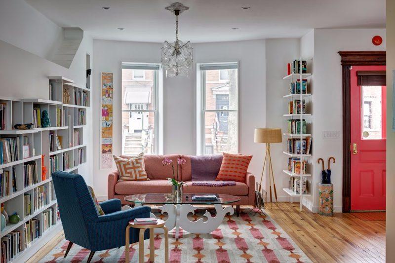 thiết kế nội thất phòng khách đẹp, sinh động