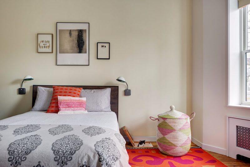 Phòng ngủ phối màu độc đáo