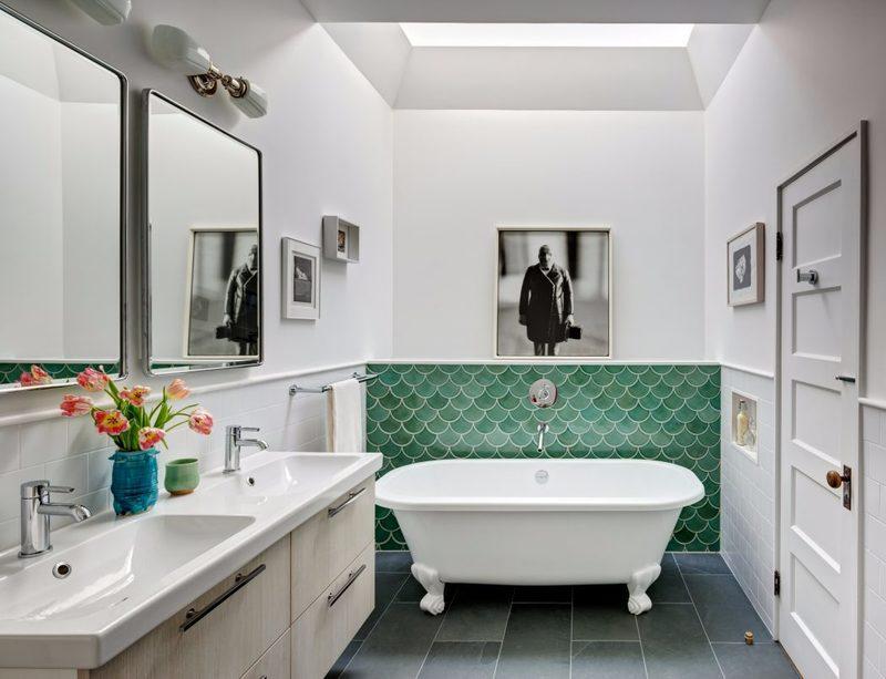 thiết kế nội thất phòng tắm đầy tính nghệ thuật