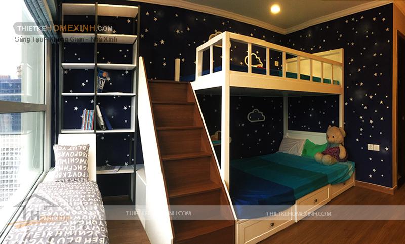 Phòng ngủ trẻ em sinh động