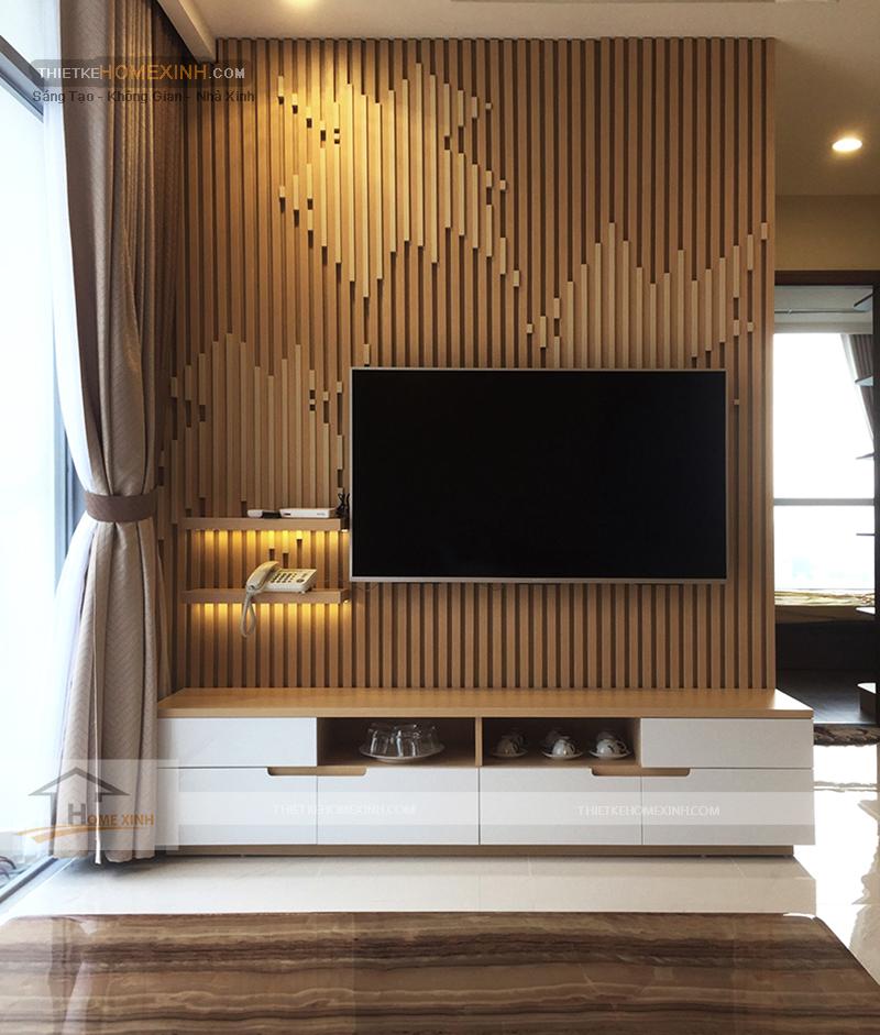 Thiết kế kệ tivi đẹp hiện đại