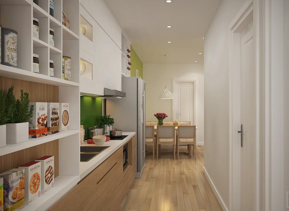 Phòng bếp tinh tế và hiện đại