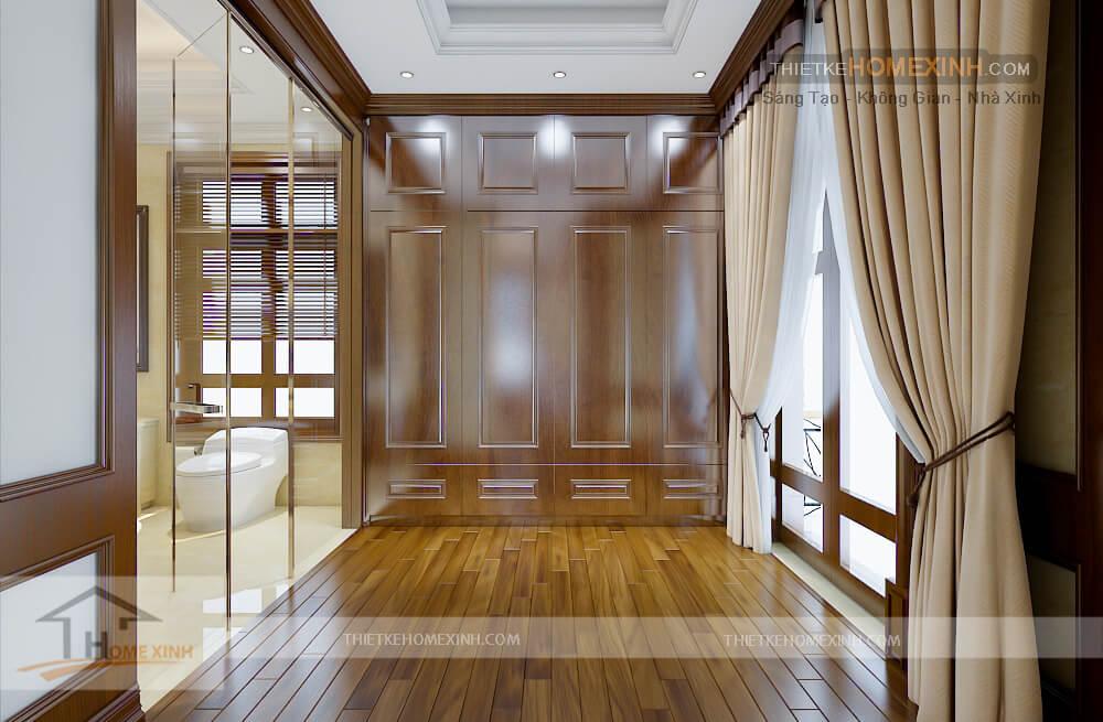 Tủ áo dành cho phòng ngủ master