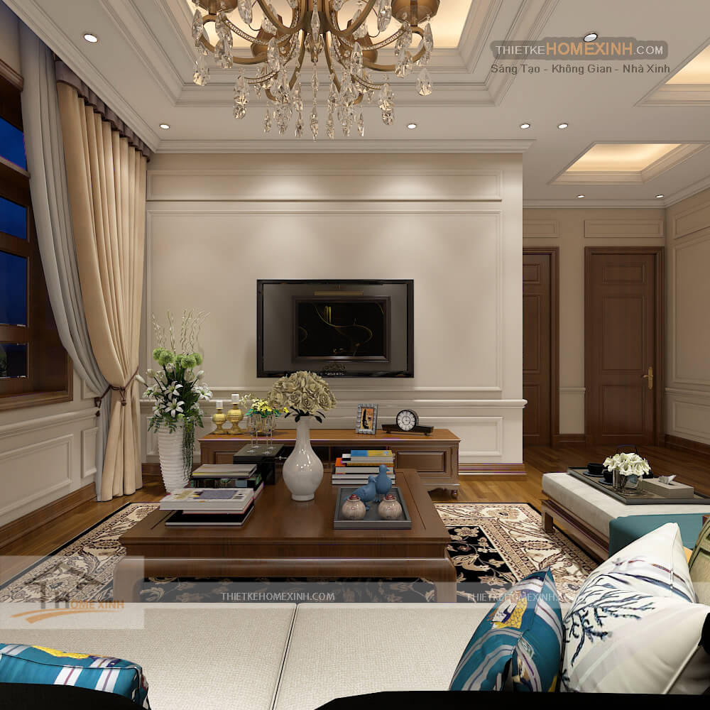 Không gian căn phòng đầy đủ tiện nghi