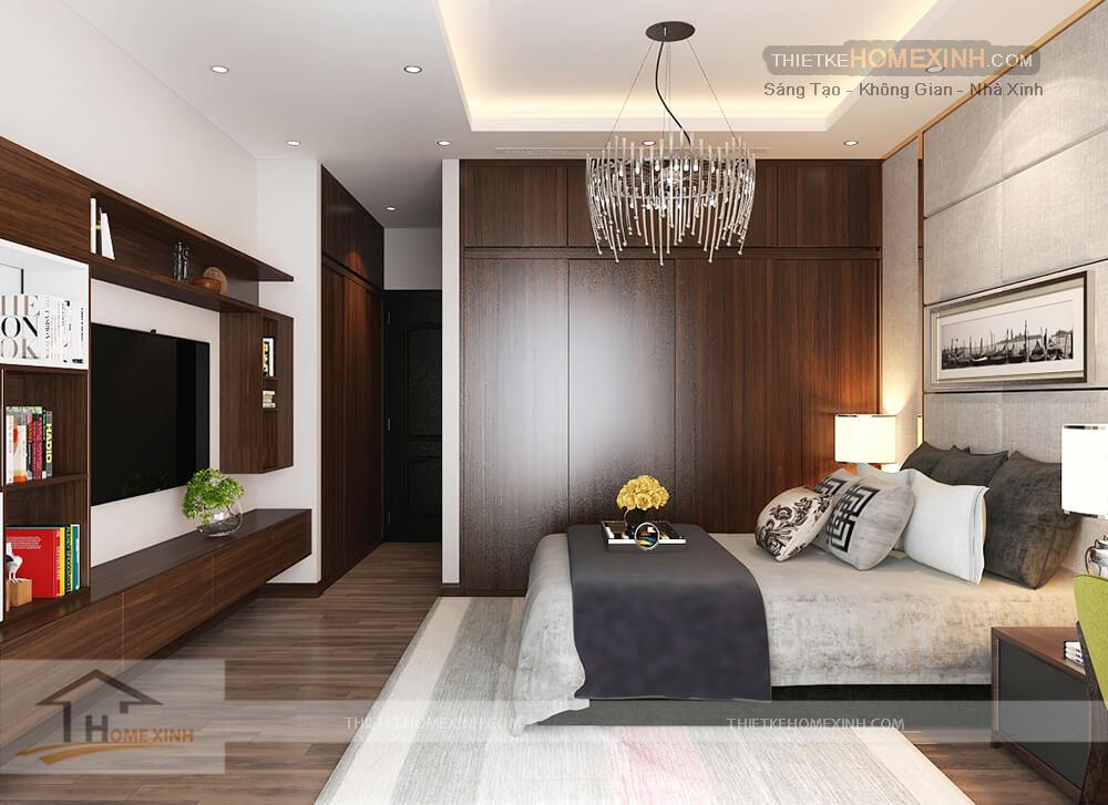 Phòng ngủ với thiết kế độc đáo