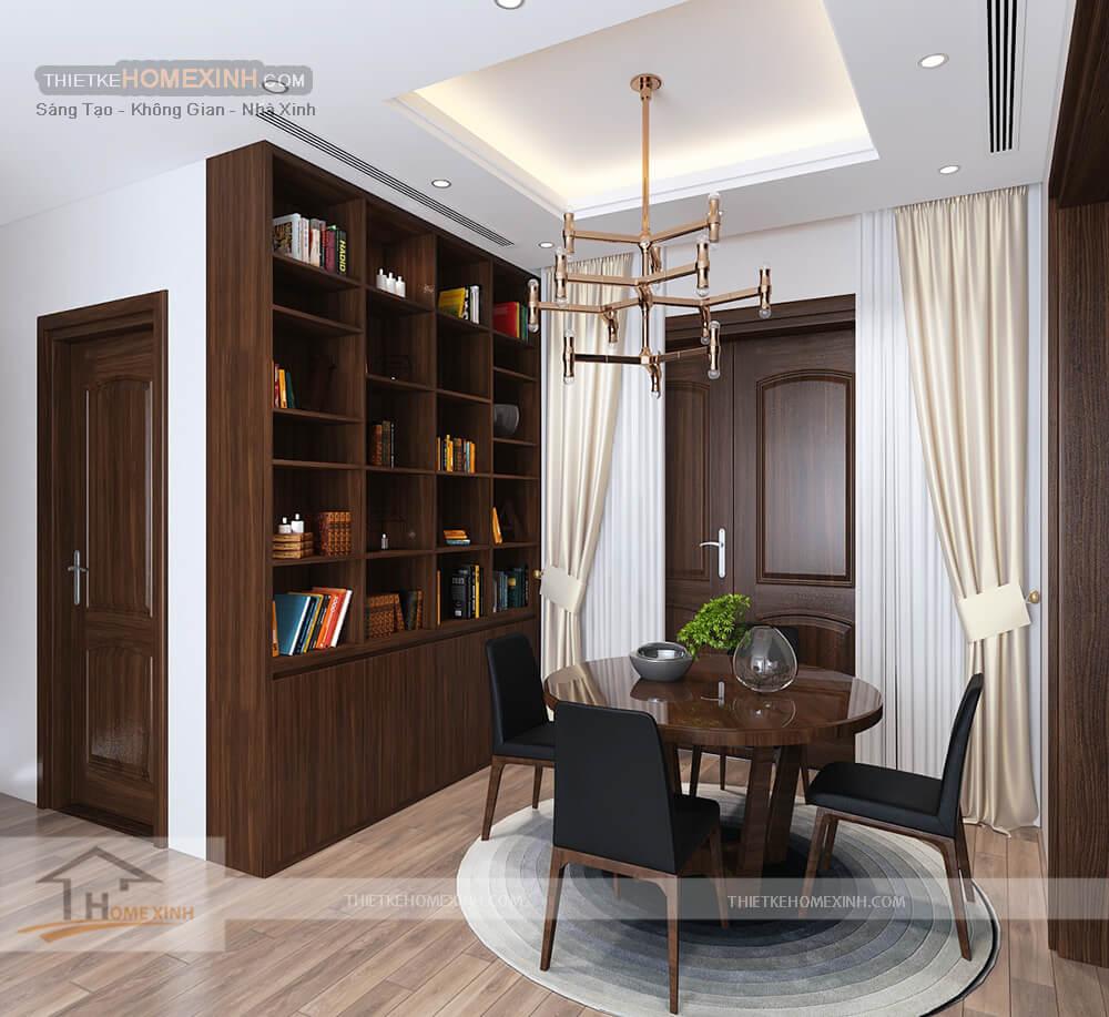 Thiết kế nội thất biệt thự 530m2 tại Tây Hồ, Hà Nội - tầng 3
