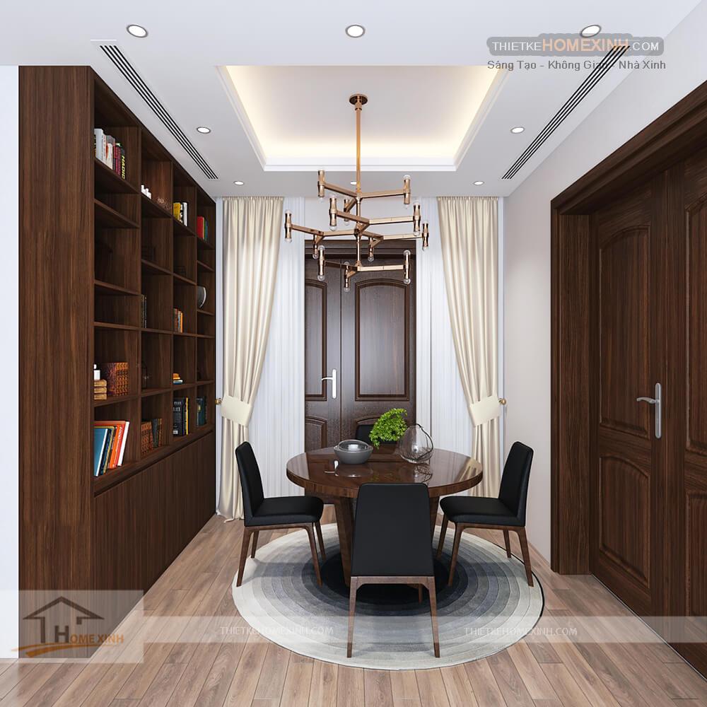 Phòng sách nhỏ và yên tĩnh