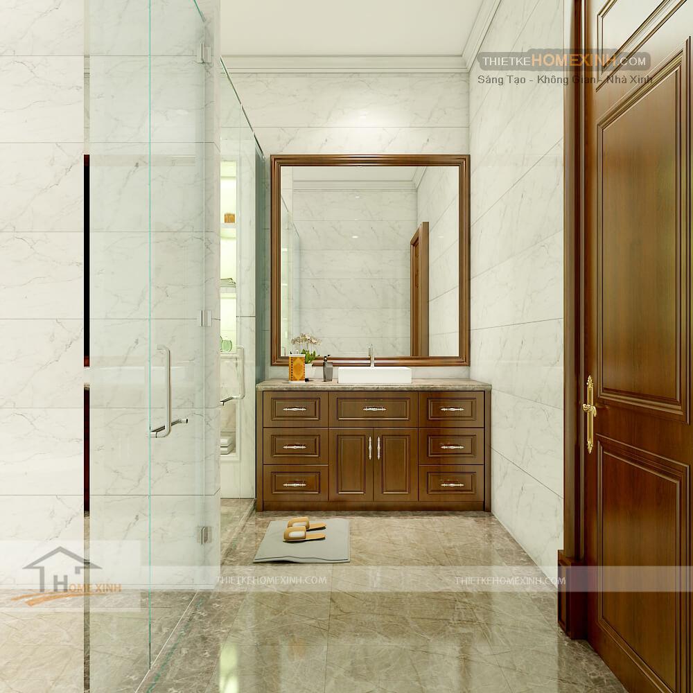 Không gian thiết kế phòng vệ sinh
