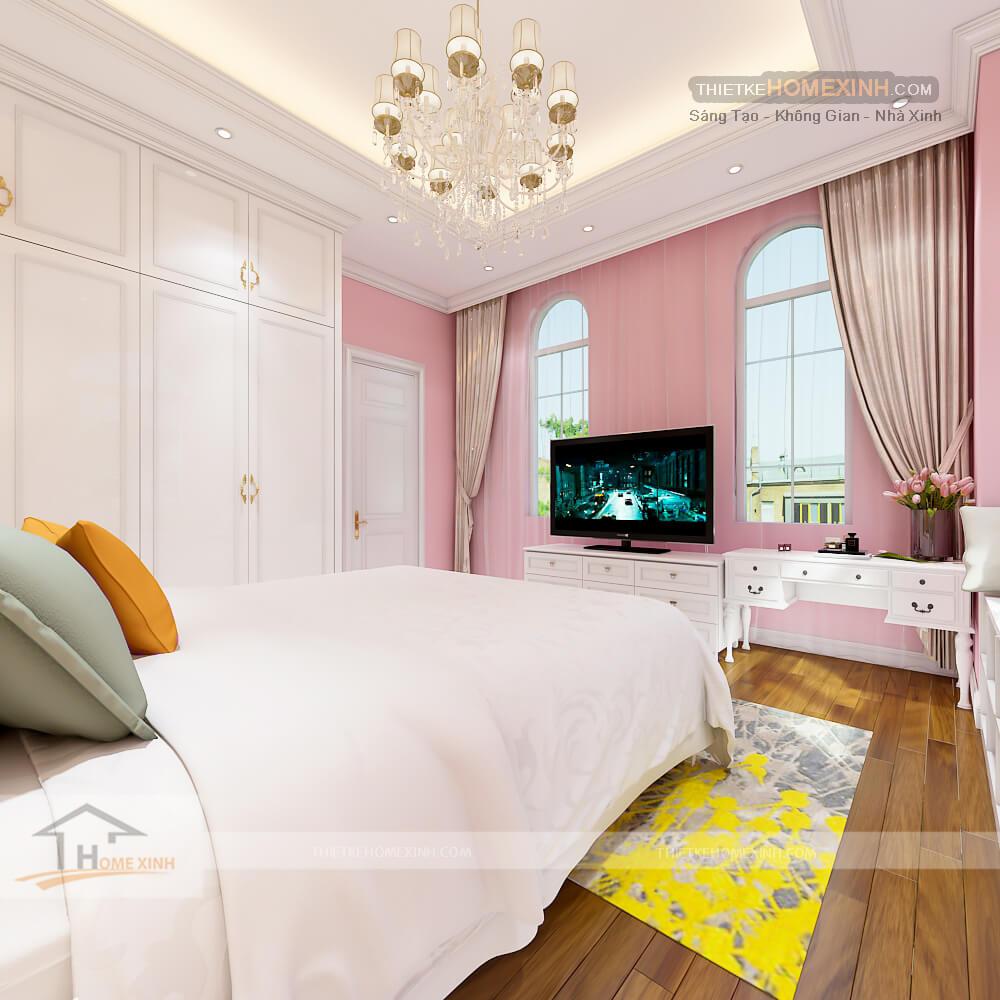 Phòng ngủ thập đẹp và đáng yêu dành cho cô con gái