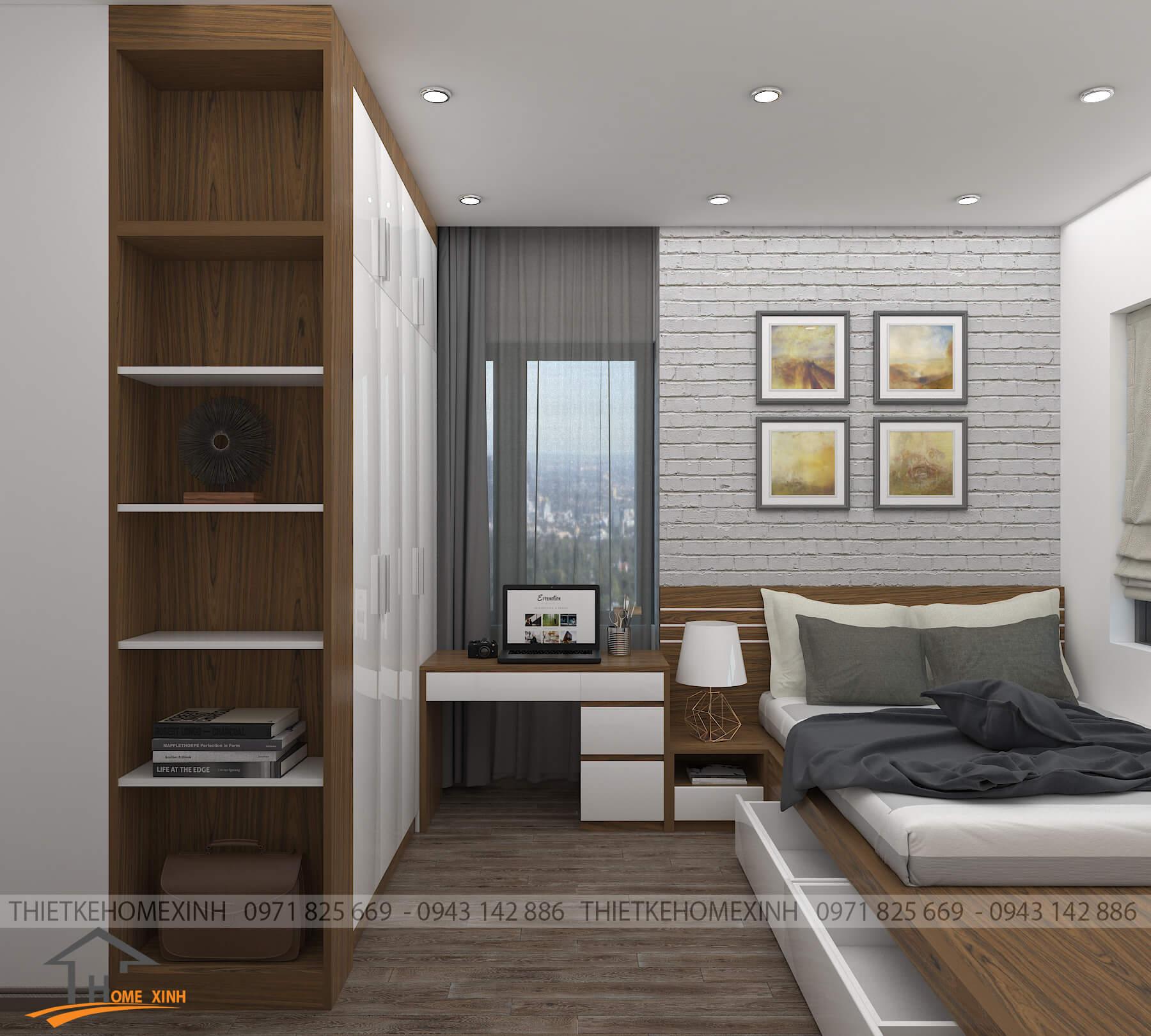 Không gian phòng ngủ hiện đại