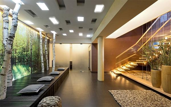 Tranh kính tạo cảm giác sang trọng và thú vị trong không gian nội thất