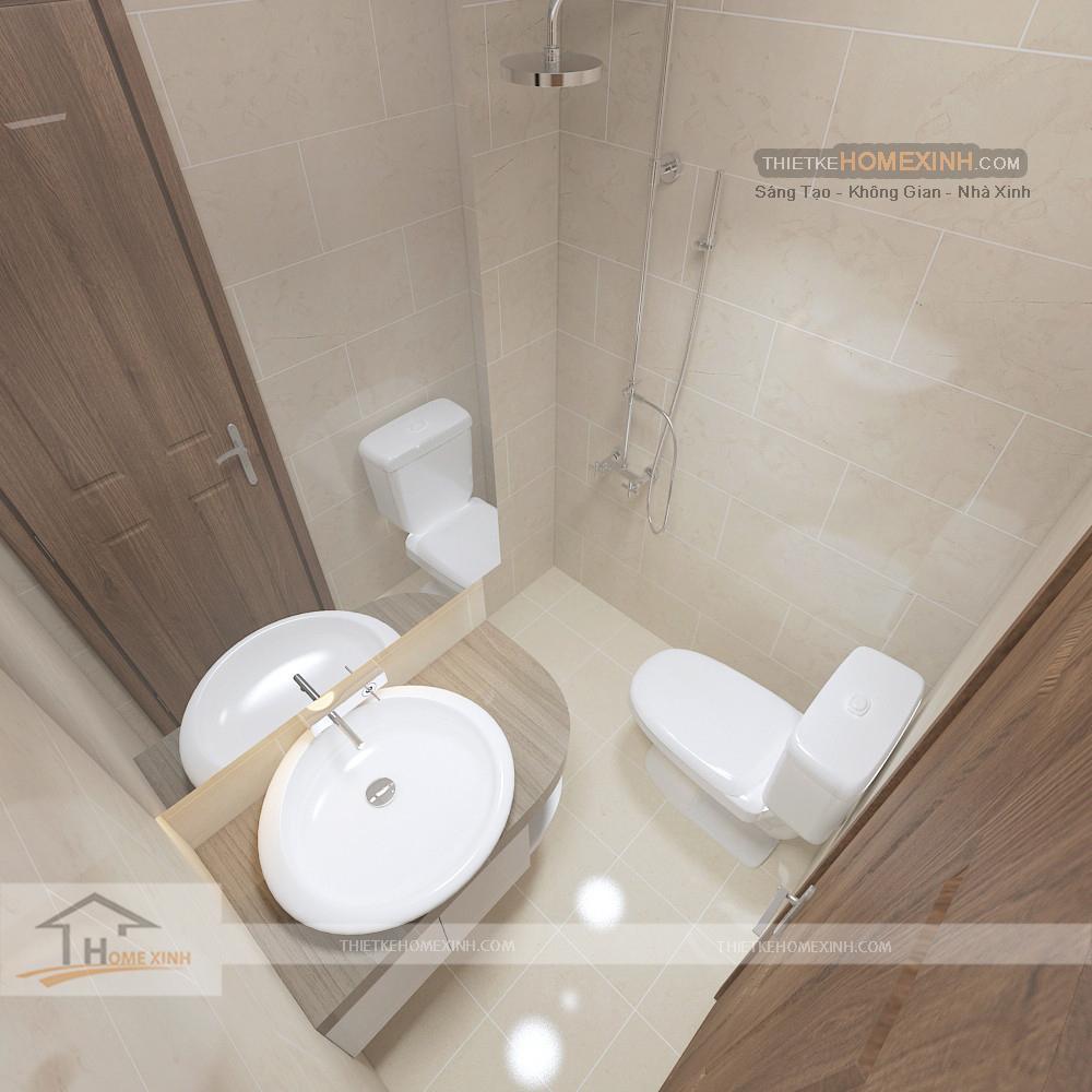 Phòng vệ sinh căn hộ