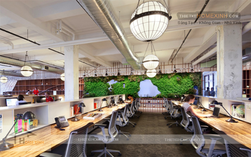 Những mẫu thiết kế nội thất văn phòng đẹp - 224716
