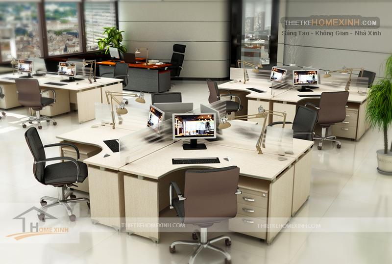 Thiết kế văn phòng nhân viên