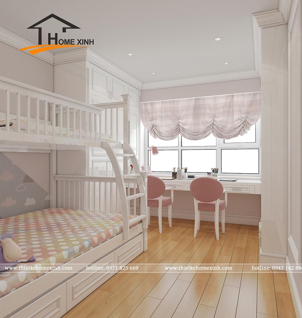 Mẫu phòng ngủ trẻ em biệt thự chú Huy