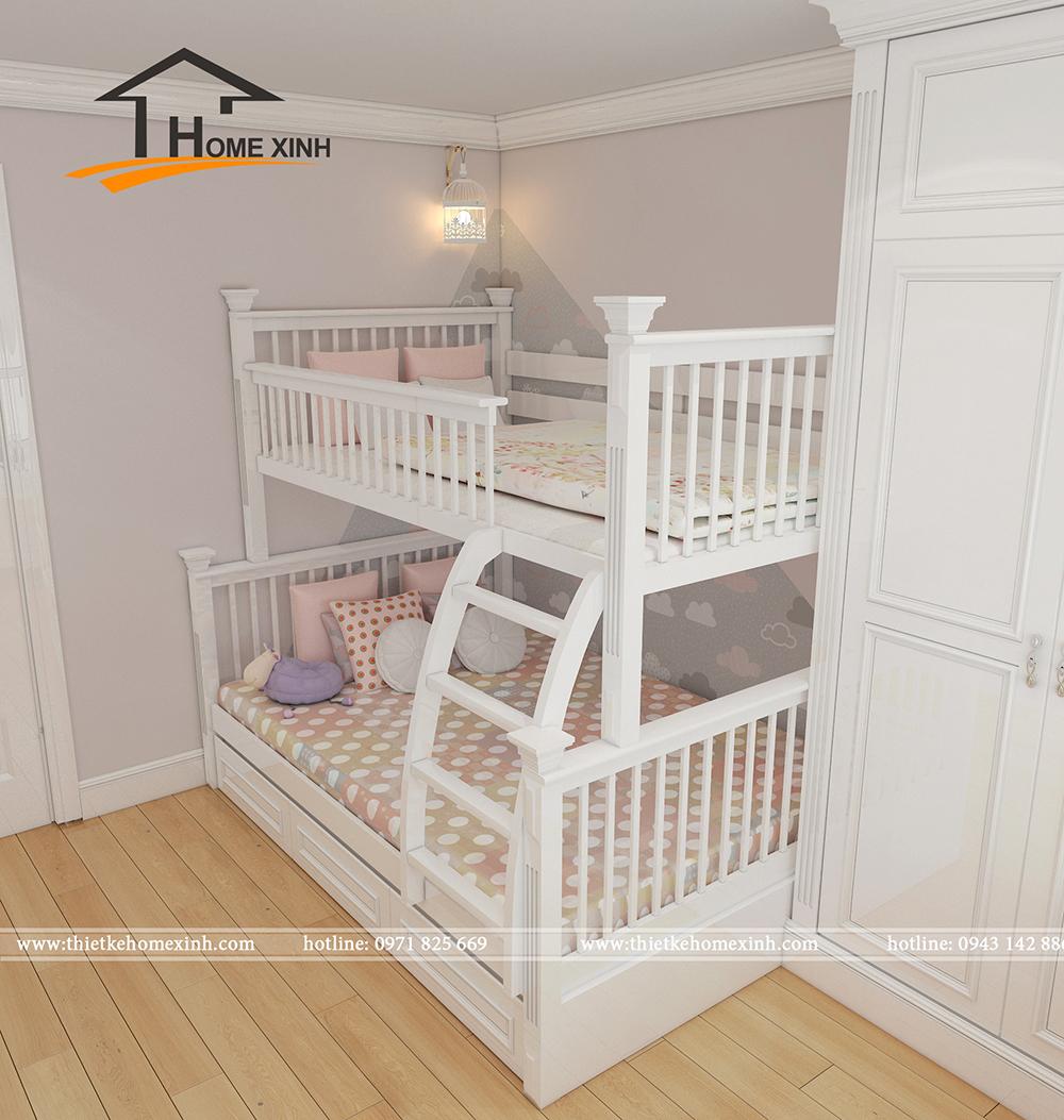 Mẫu phòng ngủ trẻ em biệt thự chú Huy - ảnh 3