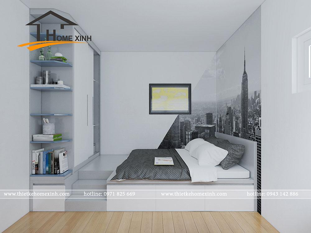 Giường liền tủ đẹp và hiện đại