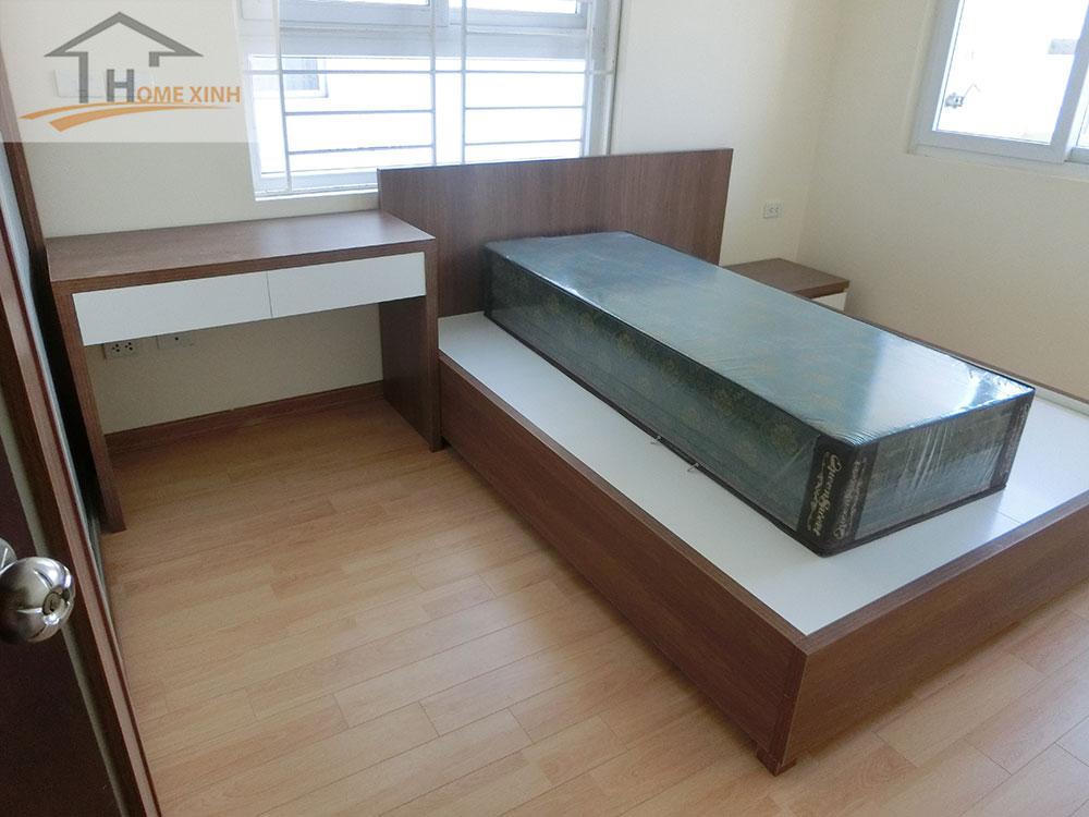 Thi công nội thất phòng ngủ chung cư 183 Hoàng Văn Thái