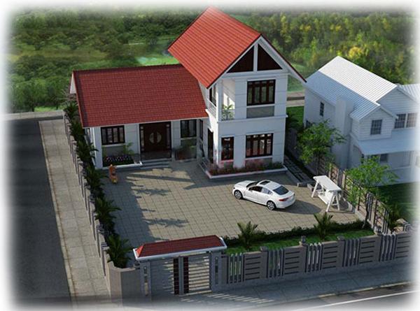 Thiết kế biệt thự vườn 1