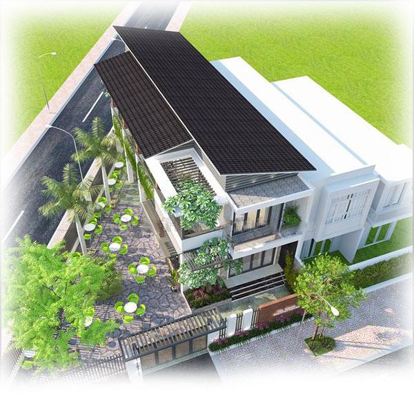 Thiết kế biệt thự vườn 2