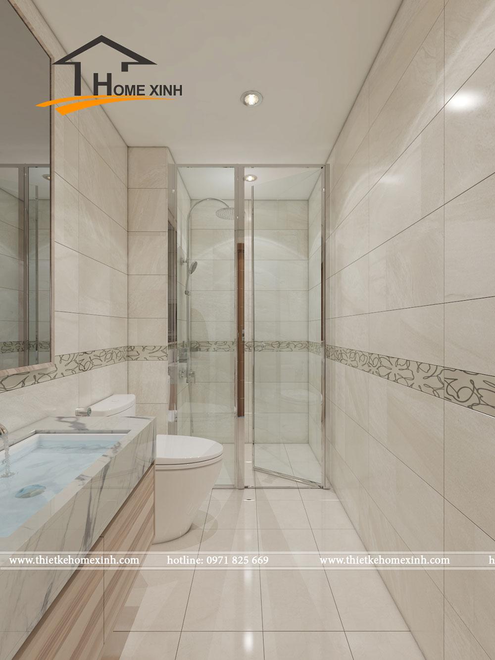 Nhà vệ sinh trong phòng ngủ master 1