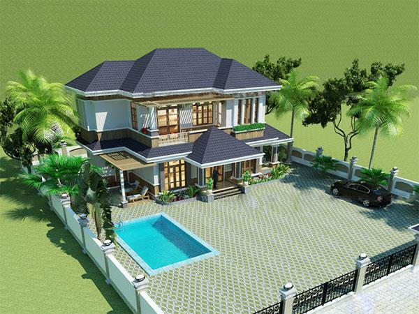 Thiết kế biệt thự vườn 18