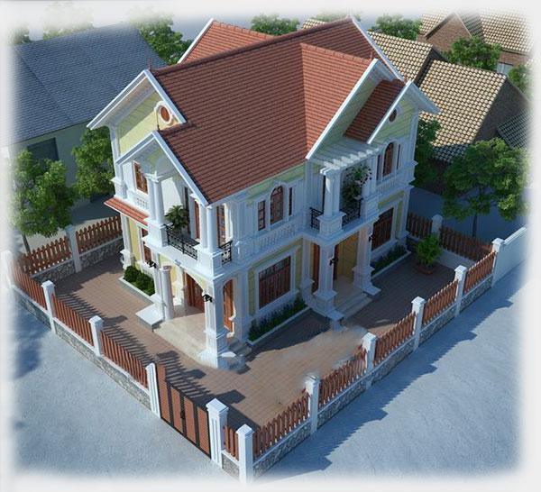 Thiết kế biệt thự vườn 8