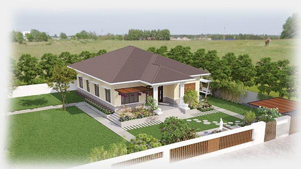 Thiết kế biệt thự vườn 14