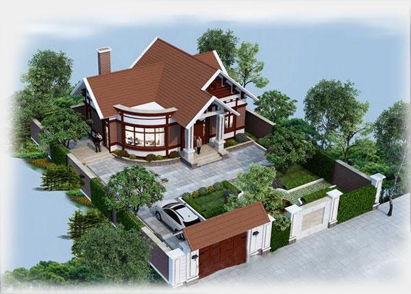 Thiết kế biệt thự vườn 3