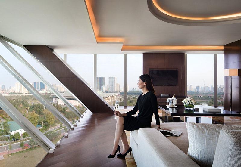 Thiết kế khách sạn JW. Marriott sang trọng bậc nhất Hà Nội
