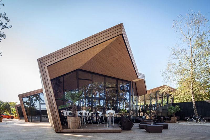 Thiết kế nhà hàng đẹp tại Nhật Bản