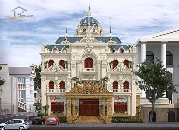 Thiết kế biệt thự cổ điển kiểu Pháp - ảnh 2