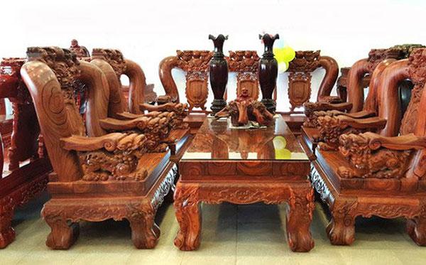 Gỗ Trắc, các loại gỗ tự nhiên dùng trong nội thất