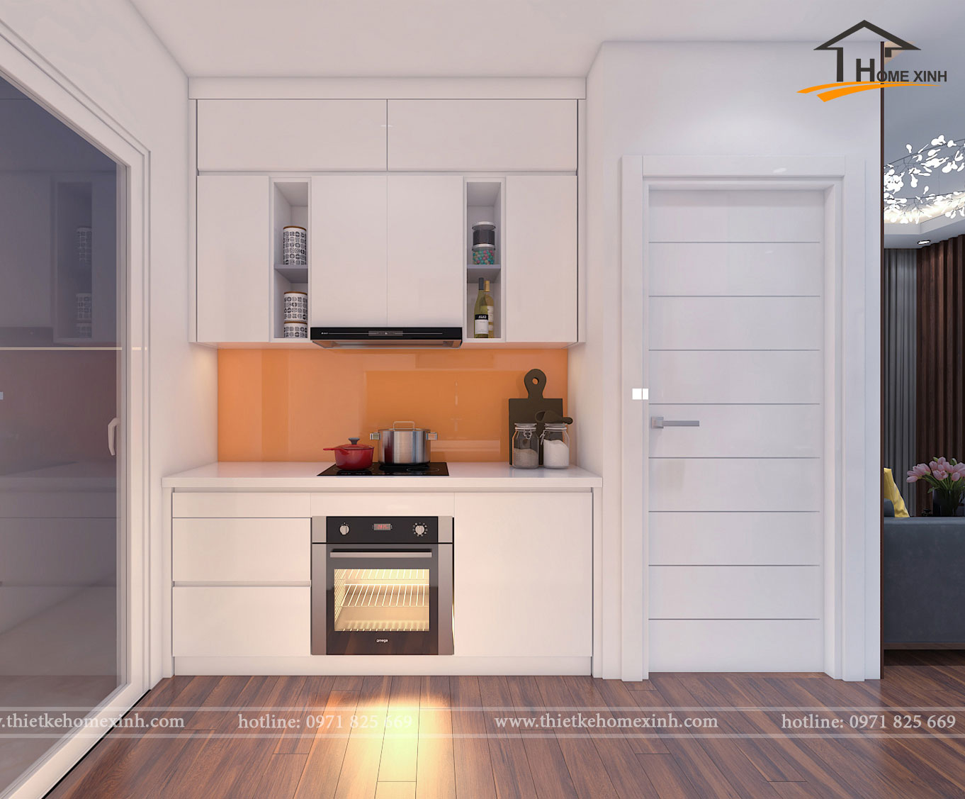 Phòng bếp căn 06 tòa A1 - ảnh 1