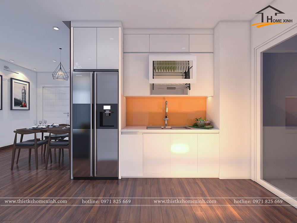 Phòng bếp căn 06 tòa A1 - ảnh 2