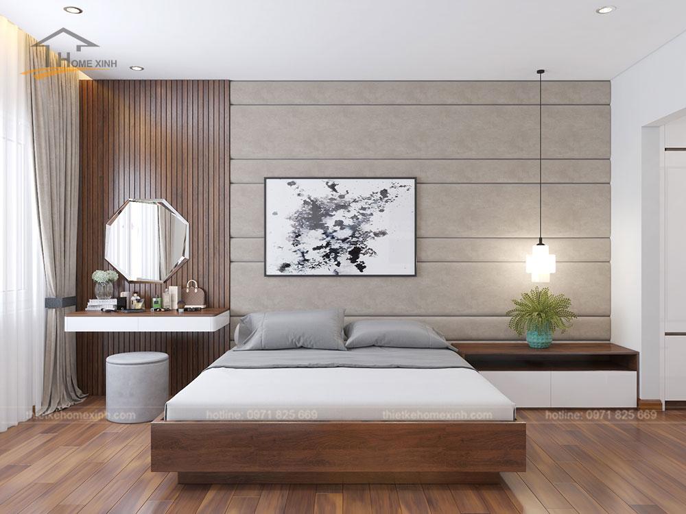 Phòng ngủ master căn 06 tòa A1 - ảnh 1
