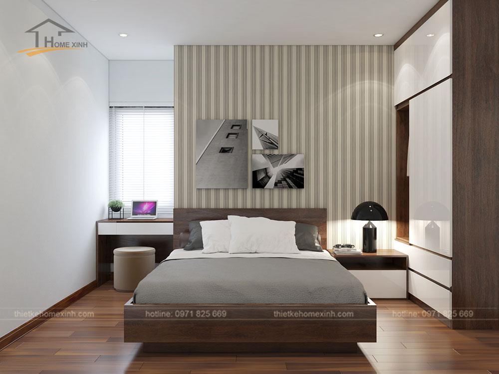 Phòng ngủ khách căn 06 tòa A1 - ảnh 1