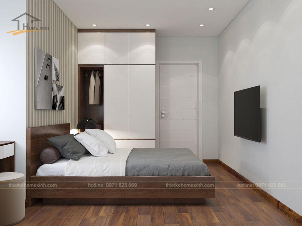 Phòng ngủ khách căn 06 tòa A1 - ảnh 2