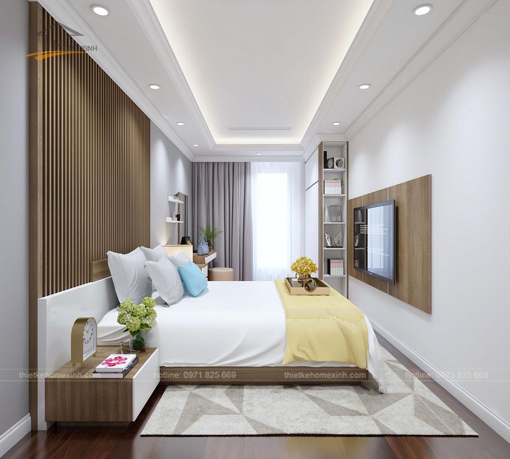 Phòng ngủ master căn 2212 chung cư Sunshine Palace - ảnh 1