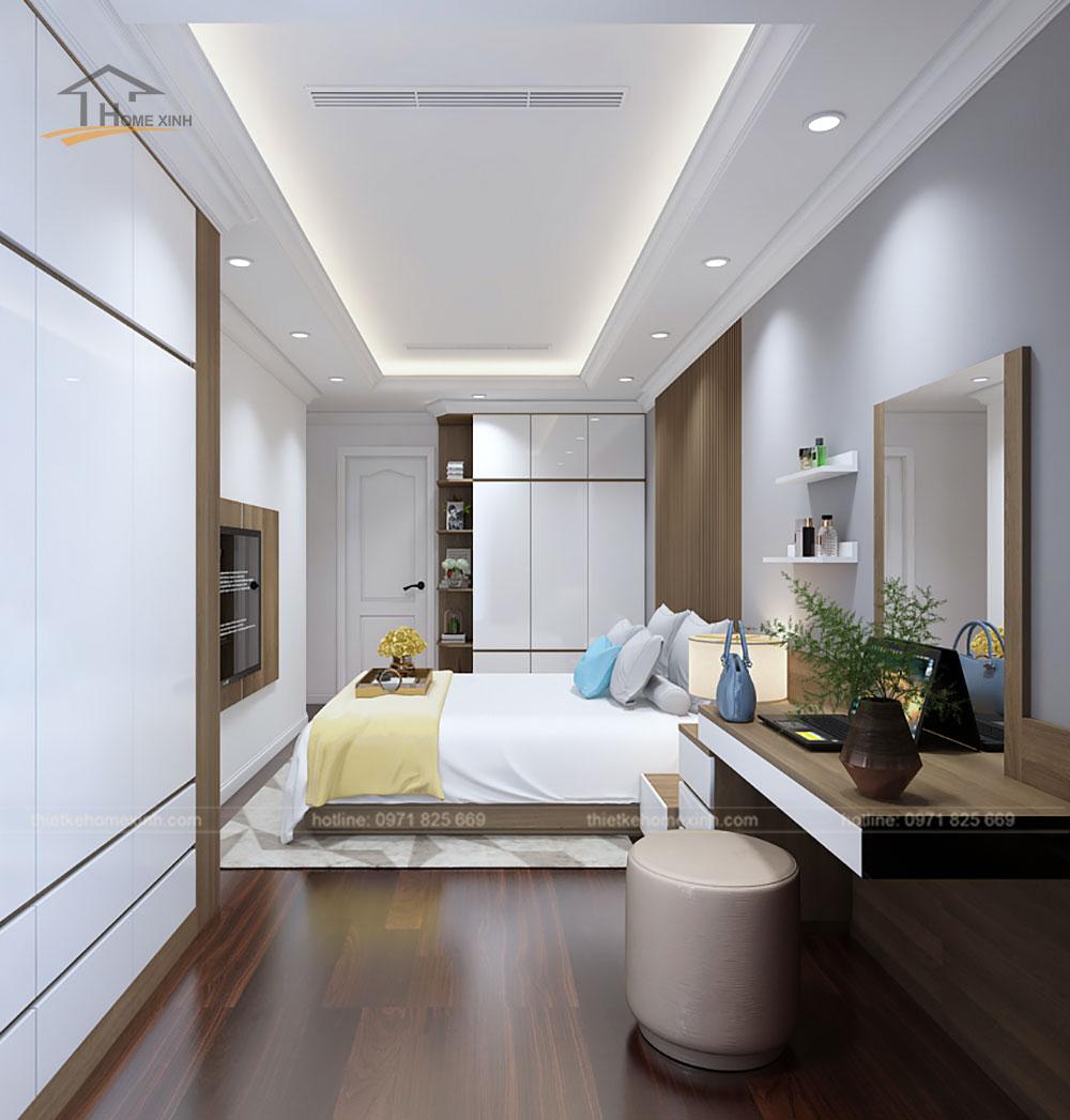 Phòng ngủ master căn 2212 chung cư Sunshine Palace - ảnh 2