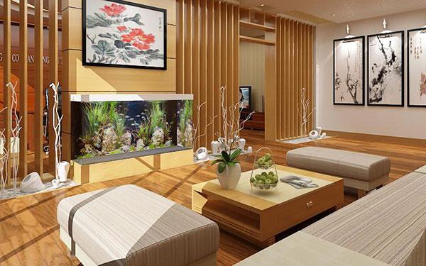 Composite được dùng làm giả gỗ trong nội thất