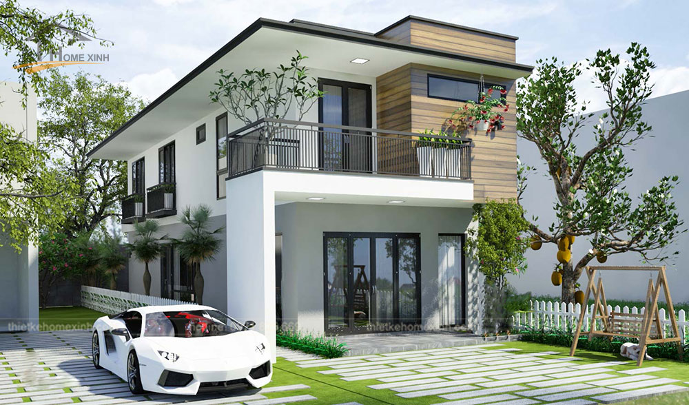 Homexinh, mẫu thiết kế nhà phố mặt tiền 5m tại Hải Phòng - ảnh 2