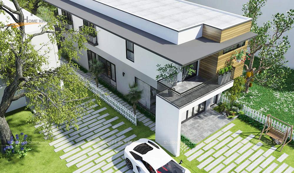 Homexinh, mẫu thiết kế nhà phố mặt tiền 5m tại Hải Phòng - ảnh 3